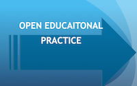 Open Educational Practice